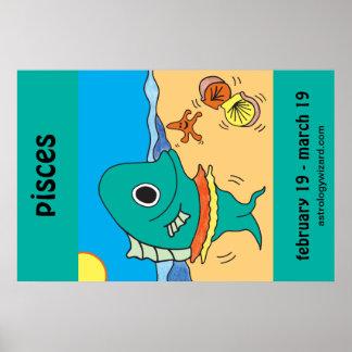 Póster Poster de Piscis