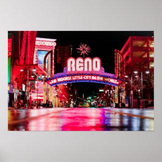 Póster Poster de Reno, Nevada