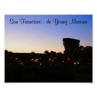 Póster Poster de San Francisco de Young Museum #2-2