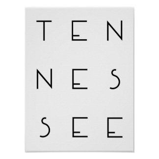 Póster Poster de Tennesse