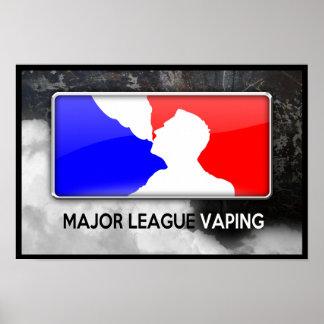 Póster Poster de Vaping de la liga