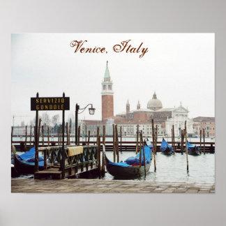 """Póster Poster de """"Venecia, Italia II"""""""