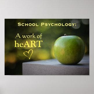 Póster Poster definido psicología de la escuela