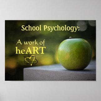 Póster Poster definido psicología de la escuela de Iowa