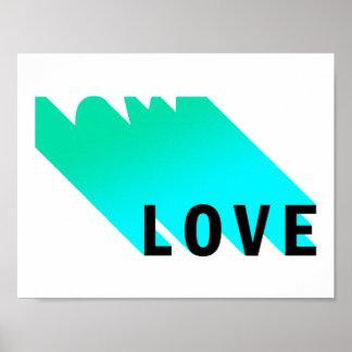 Póster Poster del amor