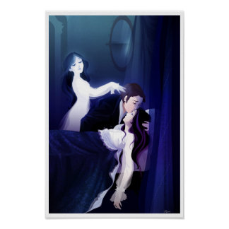 Póster Poster del amor del fantasma
