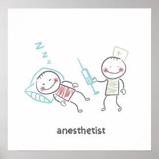Póster Poster del Anesthetist