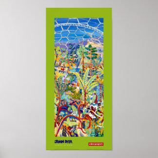Póster Poster del arte: Pintor de la cal de Eden