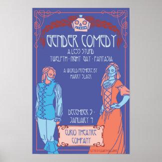 Póster Poster del ~ de la comedia del género de Elizabeth