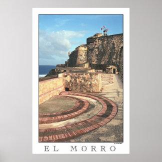 Póster Poster del EL MORRO Puerto Rico