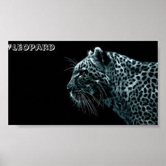 Póster Poster del leopardo