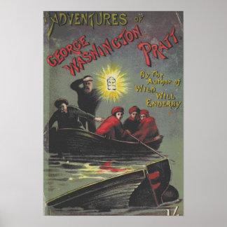 Póster Poster del libro del vintage