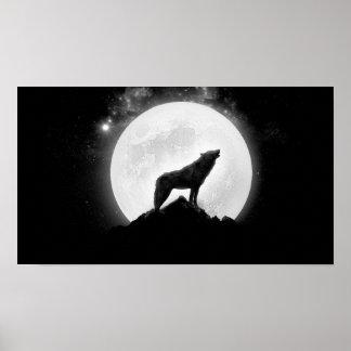 Póster poster del lobo