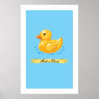 Póster Poster del pato