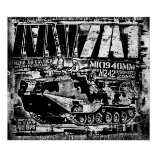 Póster Poster del poster AAV-7A1