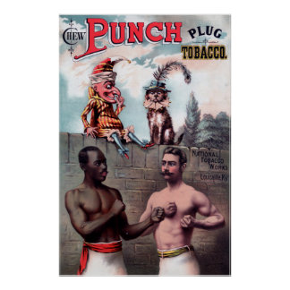 Póster Poster del vintage del anuncio del tabaco del