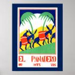 Póster Poster del vintage - EL Panadero