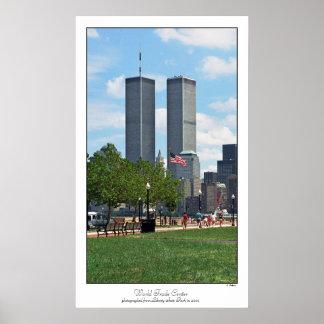 Póster Poster del World Trade Center