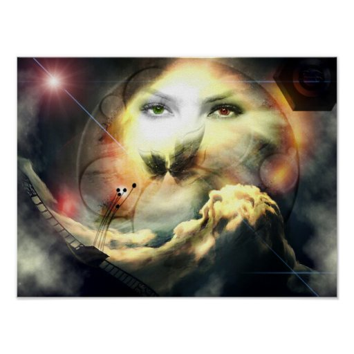 Póster Poster fantasía: Universal fair/Promodecor