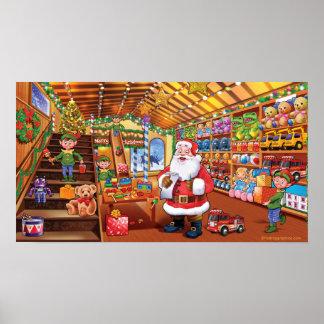 Póster Poster gigante, magia de la diversión del navidad