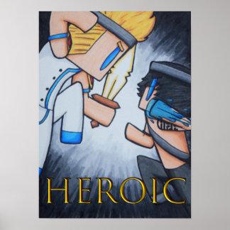 Póster Poster HEROICO (la batalla comienza)