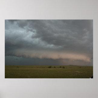 Póster Poster inminente de la granja de la tormenta