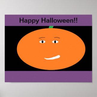 Póster Poster lindo de Halloween