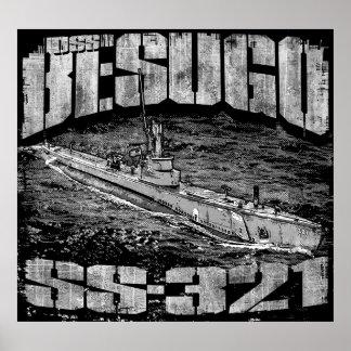 Póster Poster (mate) submarino del papel de poster del