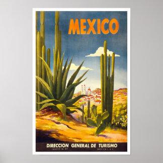 Póster Poster México 2 del viaje del vintage