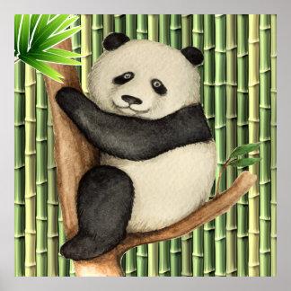 Póster Poster precioso de la panda