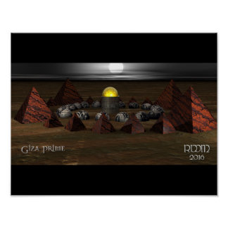 Póster Poster primero de Giza