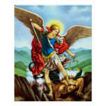 Póster Poster San Miguel Arcangel del arcángel de San