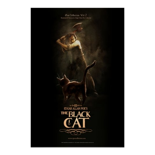 "Póster Poster ""The Black Cat"""