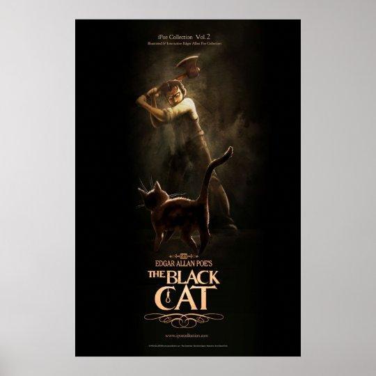 "Póster Poster ""The Black Cat"""
