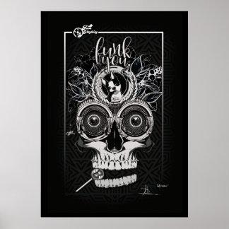 """Póster Poster tribal del autorretrato del `"""""""