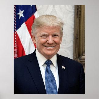 Póster Presidente Donald Trump