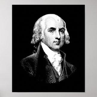 Póster Presidente James Madison