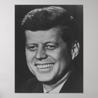 Póster Presidente John F. Kennedy