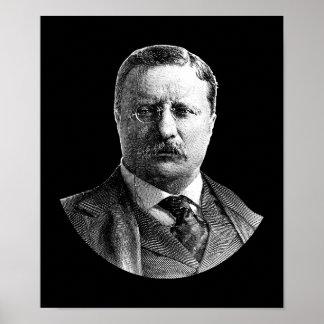 Póster Presidente Theodore Roosevelt