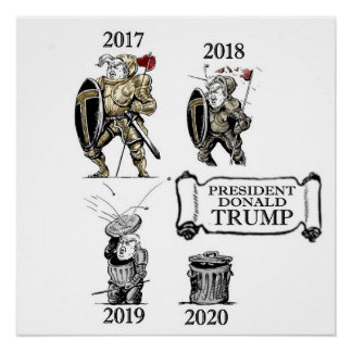 Póster Presidente Trump: Una historia