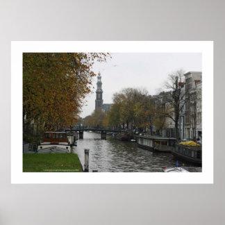 Póster Prinzengracht. Amsterdam