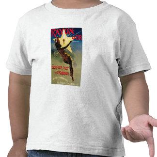 Poster promocional del restaurante de D'Or del Camiseta