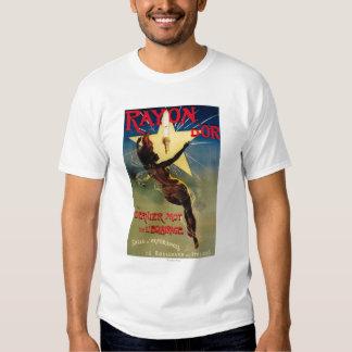 Poster promocional del restaurante de D'Or del Camisetas