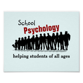 Póster Psicología de la escuela: Ayudando a todos los