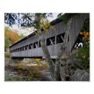 Póster Puente cubierto 7692