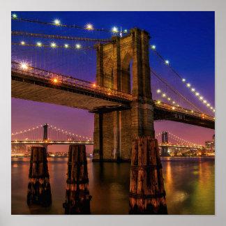 Póster Puente de Brooklyn -- Poster