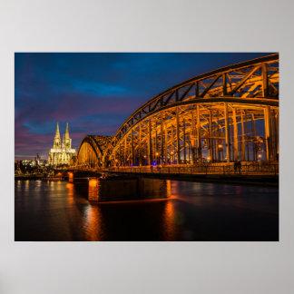 Póster Puente de Hohenzollern