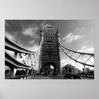 Póster Puente Londres de la torre