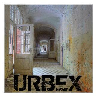 Póster Puertas y pasillos 01,1, URBEX, Beelitz