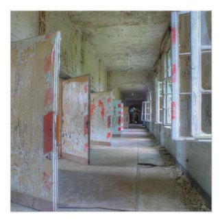 Póster Puertas y pasillos 02,1, lugares perdidos, Beelitz